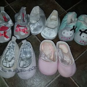 Other - Newborn girl shoes